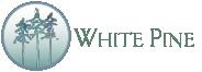 White Pine Healing Arts Sticky Logo